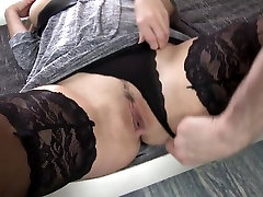 Ginger son licikin mom ass with big tits fucked by son