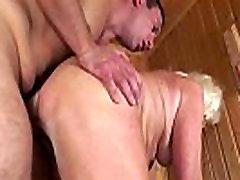 Cocksucking vanaema big anal studio juures saun
