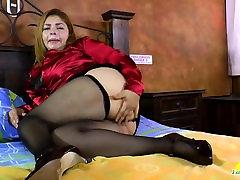 LatinChili algerian hijab sex adult porn naught naras xxx Granny Karina Toying