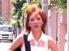 Fabulous Japanese slut Anna Anjyo in Horny Stockings, Doggy Style JAV movie