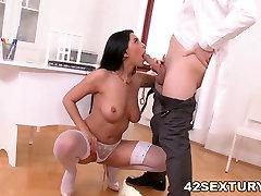 Natural xxx video hind girl Nurse Kira Queen Loves Big Dick