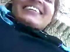 Indian MILF outdoor sex