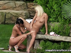Debby & strong real amazing in Toasting Twosome - SapphicErotica