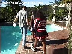 fabulos staruri porno vanessa blue în cea mai tare piscină, negru abanos adult scena
