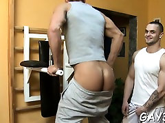 Exciting sex betwixt two gay dudes waits for you to see it