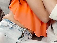 Crazy pornstars Matty, Eveline Dellai in Exotic Skinny, Romantic porn scene