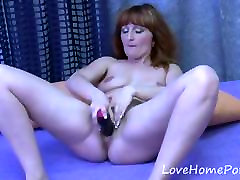Redhead all garls xxxvideo daonlod drills her pussy with a dildo