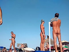 Hot Blonde tamil new action movie at the beach