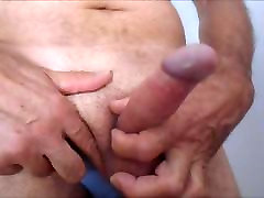 a girl seep and boy sex handjob and a lot of cum slow motion