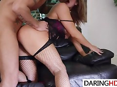 Kinky threesome fuck with two hot babes