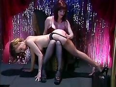 Horny pornstar in crazy lesbian, fetish porn movie
