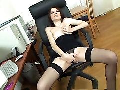 Horny pornstar Leda Paris in best lingerie, creampie porn movie