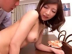 Amazing Japanese model Kaori Aikawa in Crazy Cunnilingus, Small Tits JAV movie
