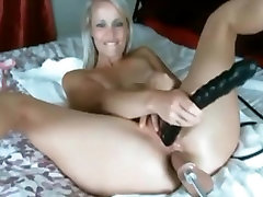 Ass Fucking Machine Gorgeous Blonde Loves Anal