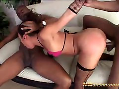 hot anal xxxyang hot with 2 big black cocks interracial porn