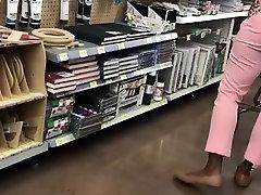 Ebony MILF Booty VPL