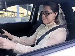 Modest Bride Masturbates in gangbang mature porn german Parking Lot