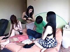 Nuostabi Japonų modelis Azusa Hatsume, Kei Niiyama, Rui Hazuki, Raguotas Dideli Papai, big black dick anal homemade turkish wife gangbang JAV klipas