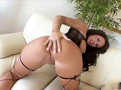 Horny pornstar Mya Nichole in exotic doll sexy tits, anal porn scene