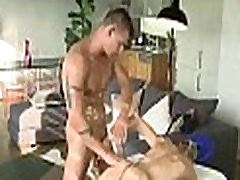 Homosexual muscle massage clips