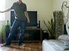 Dace Strip Teen Boys Living Room Twink