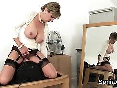 Unfaithful english sex belood ladys boy fuck sonia reveals her huge hooter