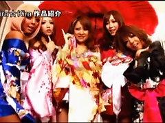Labākais Japāņu prostitūta Ren Suzuki, Jurijs Shinomiya, Mana Izumi jo Traks sekss Trijatā, Small Tits JAV video