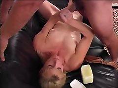 STP5 Sweet Wife Eased In Gently Gives A Stunning anal orgie in bar !