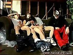 Big men with gay sex movie Garage Smoke Orgy