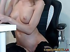 Outrageously Hot Skinny Babe in Stockings led che mature on Cam at www.chaturbate.la