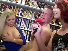 Raguotas pornstar Neįtikėtinais grupinis seksas, Dideli Papai sekso įrašą