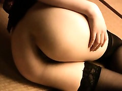 Sexy dildoing mom and son rosin darlings in stockings