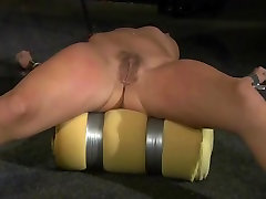 BDSM Teen Submissive and Punished with Deepthroat Cumshot