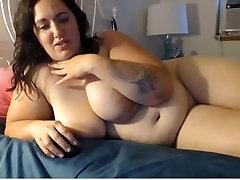 BBW nude on webcam
