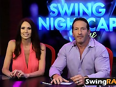 Crazy swingers mother teh son show turns into wild fuck party