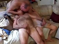 Crazy amateur gay scene with Bears, Masturbate scenes
