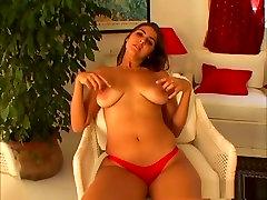 Horny pornstar in incredible latina, solo girl sex movie