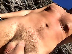 My huge cock nudist beach