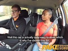 Fake Driving katinakayef sex com ebony learner with ashok kag tits