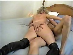 Mature Wife making out with a Black Lover