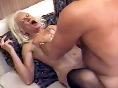 Squirting sex mom snd son Takes Rough Fucking
