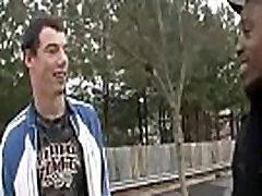 White Gay Sexy Teen Boy Enjoy Big Black Cock 04