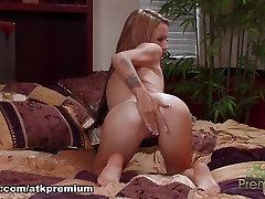Fabulous pornstar Laney Boggs in Best Solo Girl, Redhead xxx clip