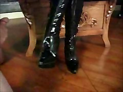 Lick the Cum Off Her Boot