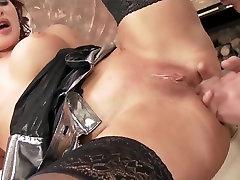 Horny homemade Fingering, very hot anal fuck 4 cock penetration movie