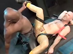 Fabulous homemade gay video with Interracial, BDSM scenes