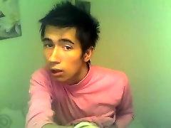 Fabulous male in crazy webcam, twink homo sex movie