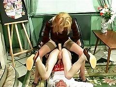Horny amateur BDSM, Fetish caseiro loira scene