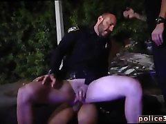 Sexy gay men police cop movie