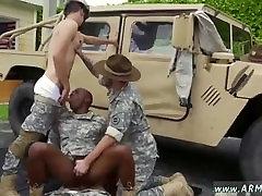 Real army men jacking blow job gay
